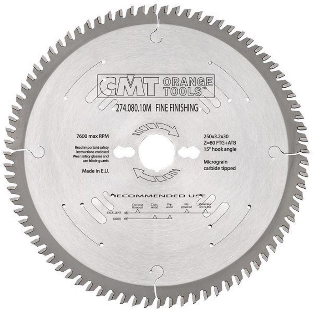 Sierra circular para corte de super precision