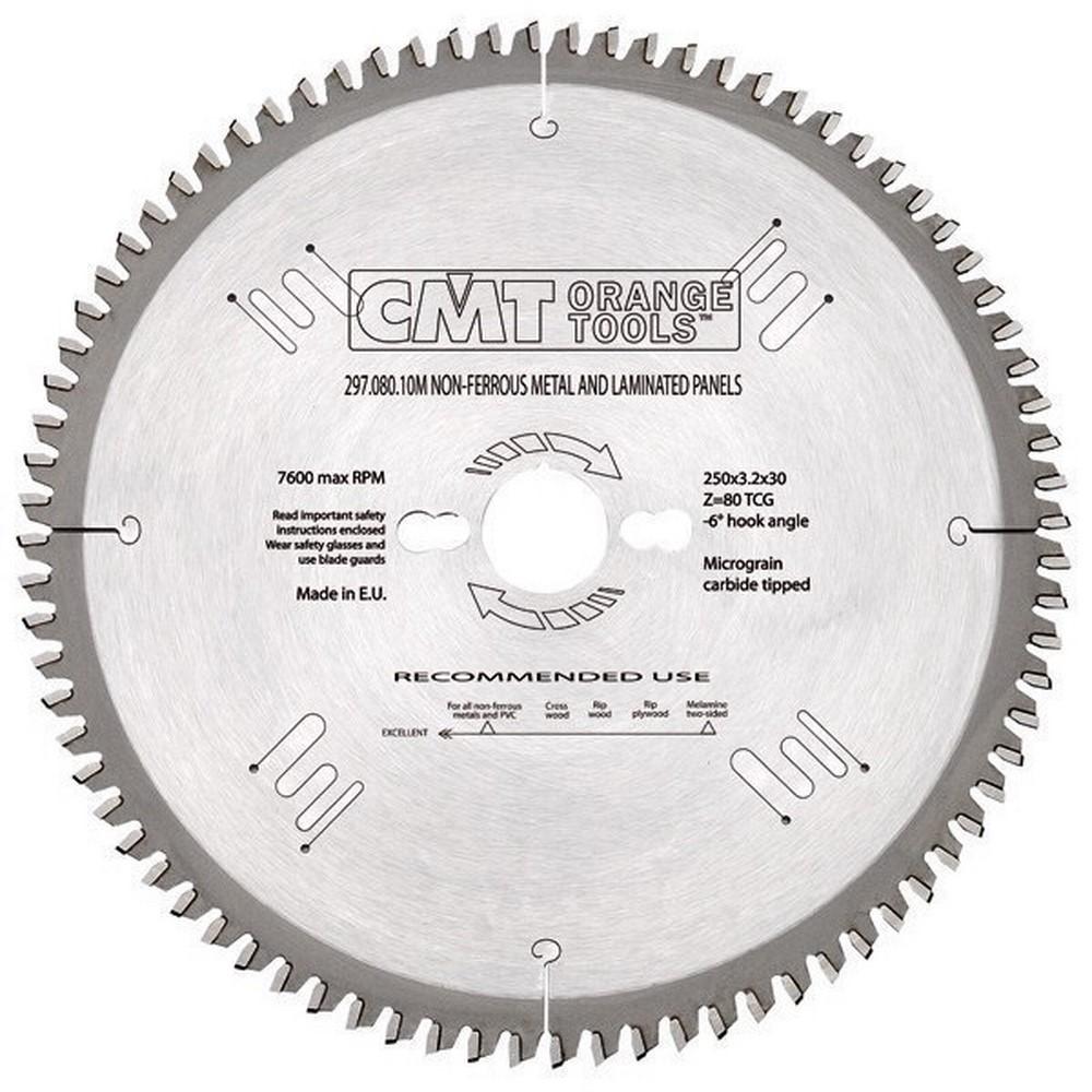 Sierra circular para materiales no ferrosos PVC laminados