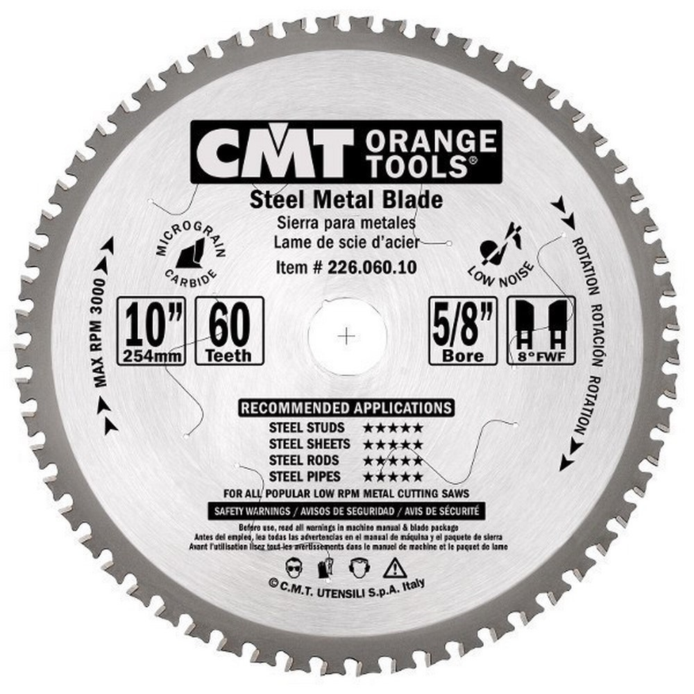 Sierra circular de corte para metales
