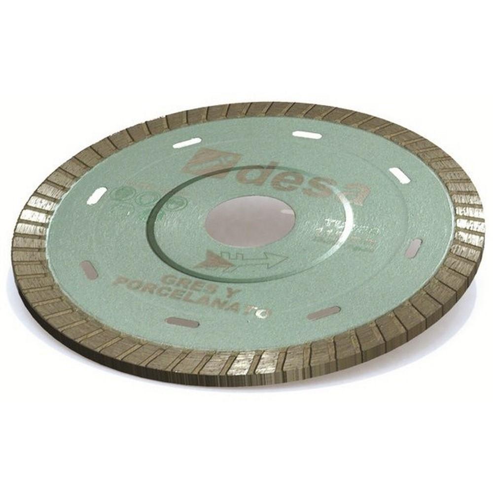 Disco diamante en seco gres-porcelanato