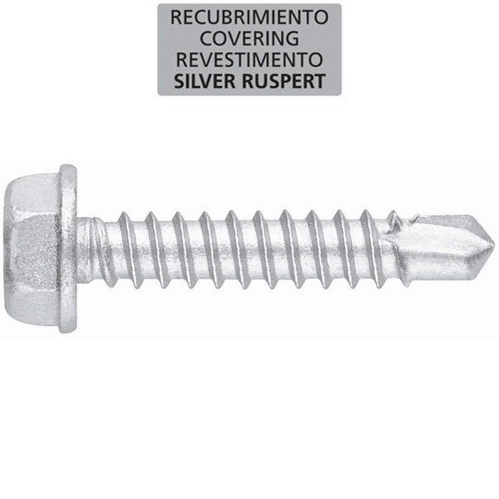 Tornillo punta broca DIN 7504-K inox