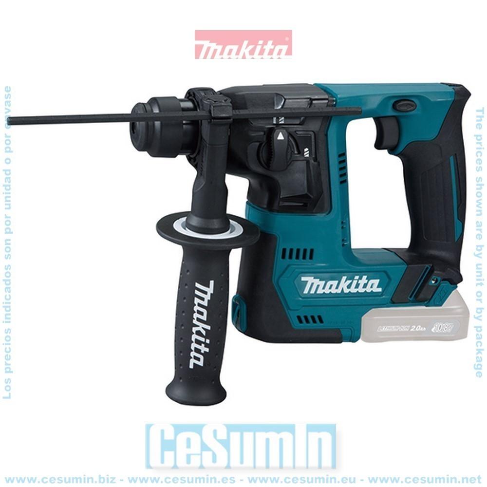 Makita HR140DZ Martillo ligero 14mm a bateria 10.8v cxt sin bateria ni cargador