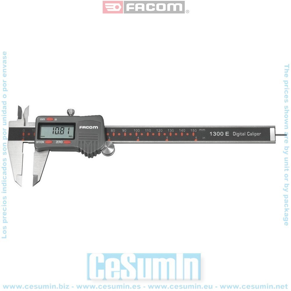 Calibre digital de taller 150 mm - FACOM - Ref: 1300E